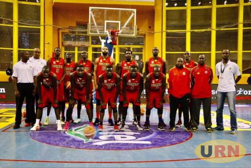The Uganda Team that qualified for Afrobasketball champions