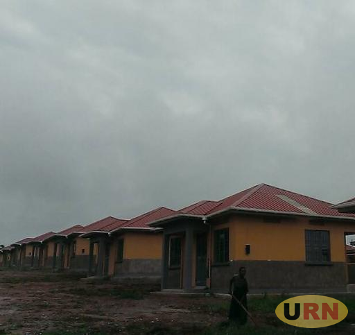 Newly constructed houses being handed over to project affected persons in Hoima District