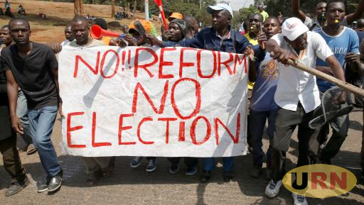 NASA supporters in protests calling for reforms at IEBC