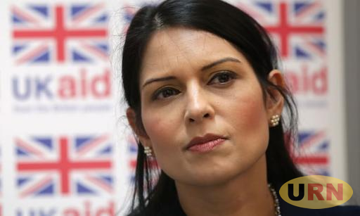 Priti Patel, the United Kingdom's Secretary for International Development who could lose her cabinet post.