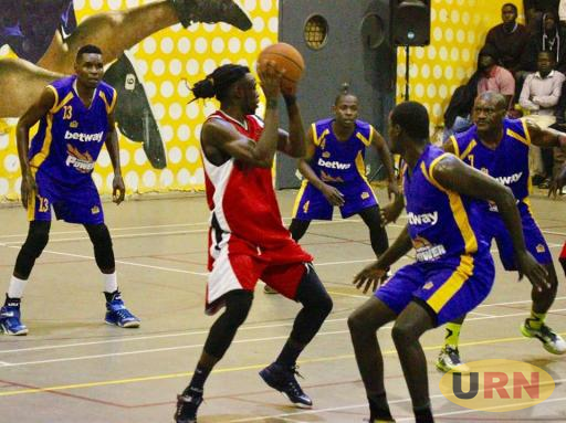 Oilers Laundry Ndikumana in action against Betway power