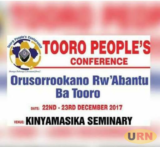 Preparations are underway for the second Tooro People's Conference.