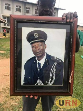 A portrait of SSP Dennis Ssebugwawo who was hacked to death on New Year's Day.