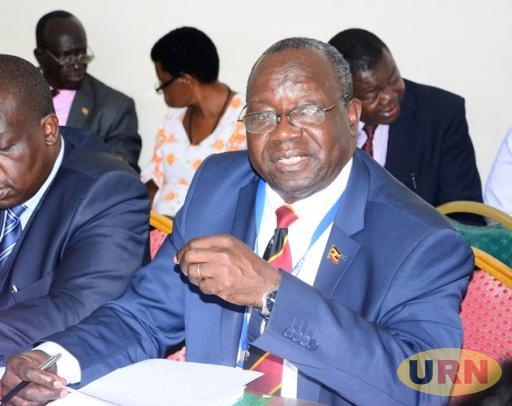 UNEB Executive Secretary Dan Odongo before Parliament's Committee on Education and Sports.
