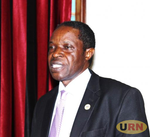 Prof. William Bazeyo, the Acting Deputy Vice Chancellor Finance and Administration at Makerere