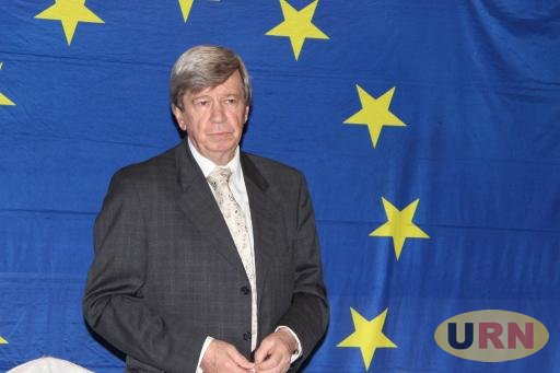 Eduard Kukan, a Member of the European Union Parliament, who headed the EU Observer Mission during the 2016 Elections in Uganda