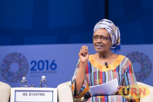 Oxfam International Executive Director , Engineer Winnie Byanyima. She has been voted as one of the ten influential  women as Uganda Marks International Women's day