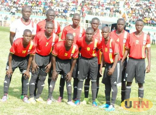 Uganda's U-17 team (Cubs) during the 2015 Africa Championship qualifier.