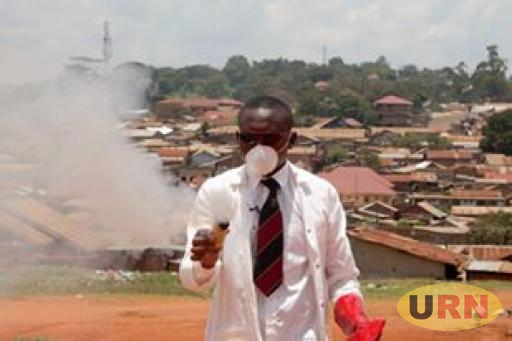 Mugarura Falcao, the teargas invention team leader