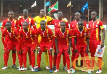 Uganda Cubs team before the game against Somalia on Wednesday.