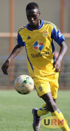 Striker Derrick Paul Nsibambi