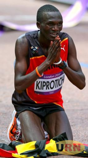 2012 Olympic gold medal winner Stephen Kiprotich.