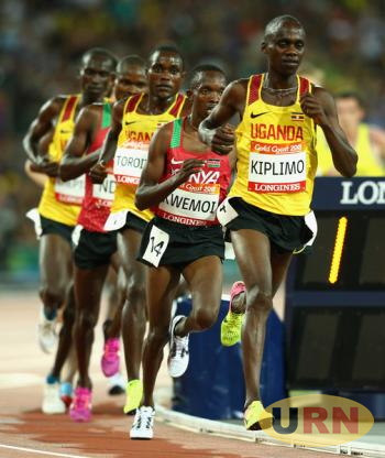 Jacob Kiplimo in a previous race.