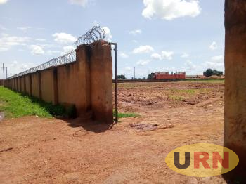 The outlook of the current Kitgum Bomah Sports Ground