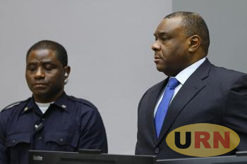 Jean Pierre Bemba during ICC trial
