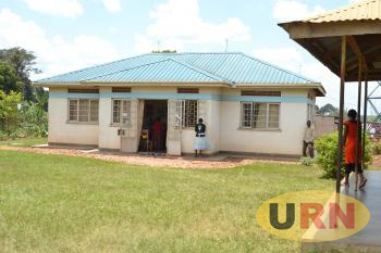 The Luweero Child Reception Center where Police keeps abandoned children.