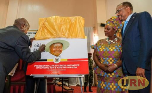 President Yoweri Museveni at the launch of  the Initiative last year