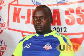 Charles Ayeko during the press conference.