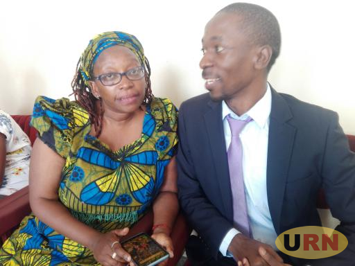 Dr. Stella Nyanzi and her Centre for Legal Aid Lawyer Isaac Ssemakadde - File Photo