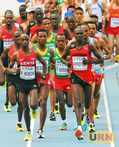Kiroptich during a previous international race.