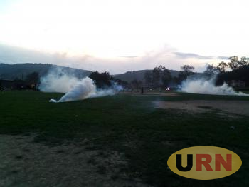 Tear gas at Kigezi High School Lower playground in Kabale Municipality